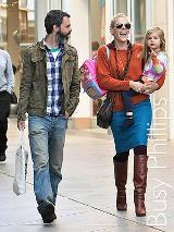 Busy Phillips and Stephen Joseph