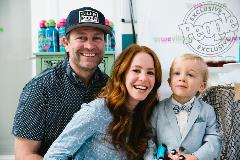 Amy Davidson and son Lennox2