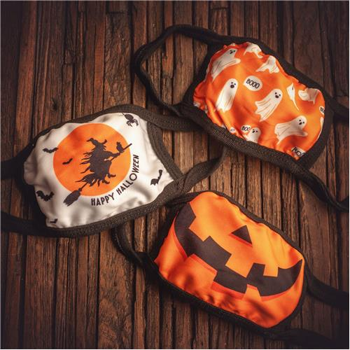 HALLOWEEN FACE MASK WITCH JACK GHST - KIDS 3-PACK