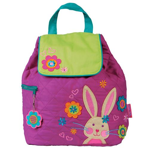 quilted backpack bunny