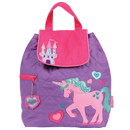 5137247e72aa quilted backpack unicorn