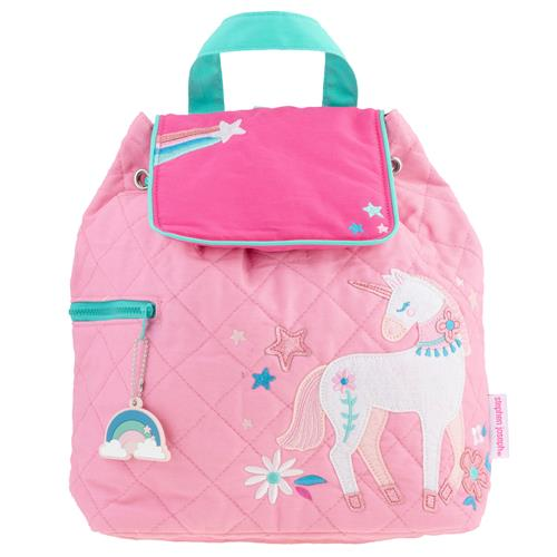 QUILTED BACKPACK  PINK UNICORN (S20)