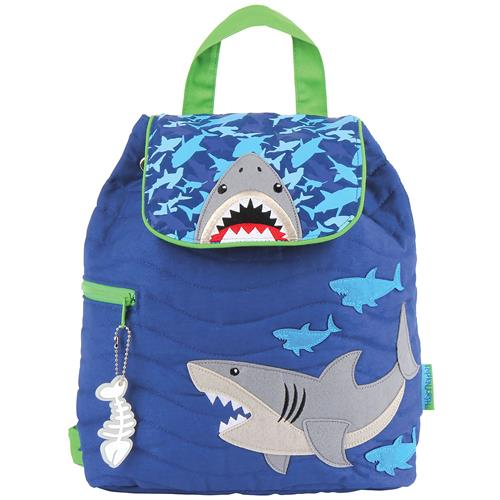 QUILTED BACKPACK  SHARK (F16)