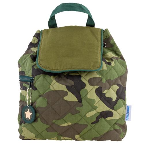 QUILTED BACKPACK  CAMO (S20)