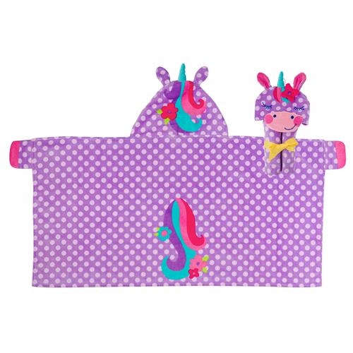 HOODED TOWEL UNICORN  (S19)