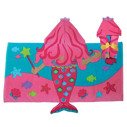 HOODED TOWEL  MERMAID (S17)