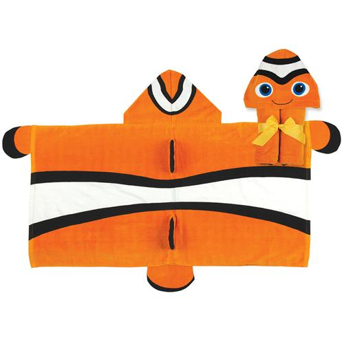 HOODED TOWEL  CLOWNFISH (S16)