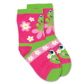 TODDLER SOCKS  GIRL FROG SMALL (S15)