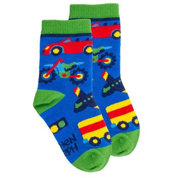 TODDLER SOCKS TRANSPORTAION LARGE(F18)