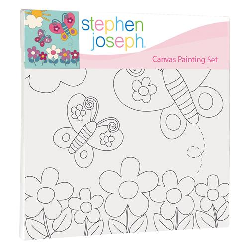 CRAFT CANVAS SET - BUTTERFLY