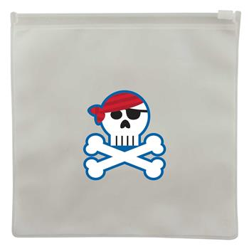 Reusable snack bags for preschoolers | Pirate reusable snack bags