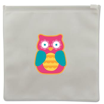 Reusable snack bags for preschoolers | Teal owl reusable snack bags