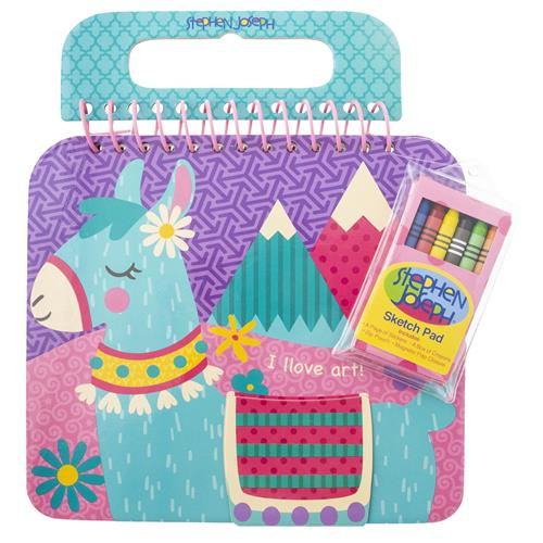 SHAPED SKETCH PAD LLAMA (S19)