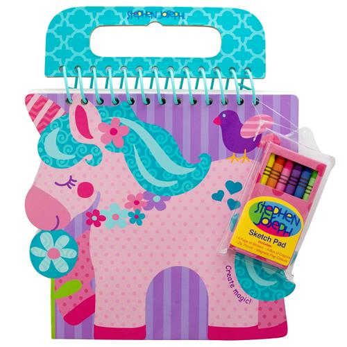 SHAPED SKETCH PAD UNICORN (S18)