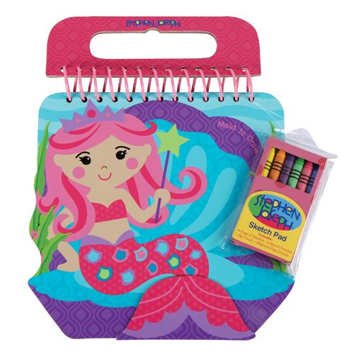 SHAPED SKETCH PAD MERMAID (S17)