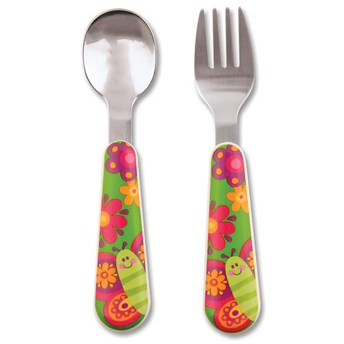 silverware sets for toddlers butterfly silverware for children