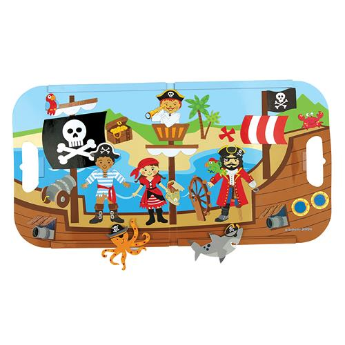 MAGNETIC PLAY SET PIRATE (F15)