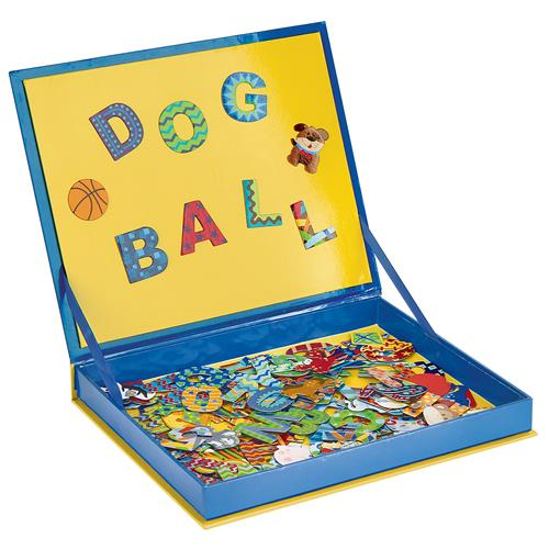 SPELL & COUNT MAGNETIC PLAY BOARD - BOY(S16)
