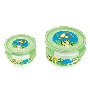 NESTED SNACK CONTAINERS BOY ZOO (F16)