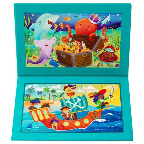 2-SIDED MAGNETIC PUZZLE PIRATES (S19)