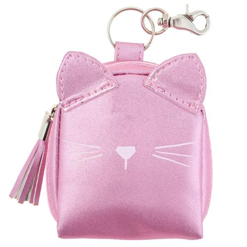 SHIMMER COIN PURSE CAT (S20)