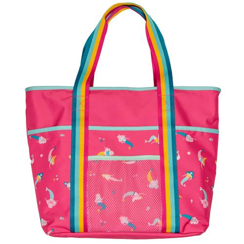 PRINTED BEACH TOTE MERMAID (S21)