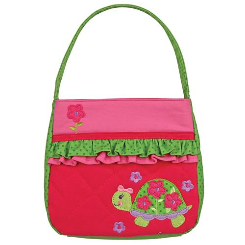 QUILTED PURSE TURTLE (F15)