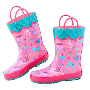 ALL OVER PRINT RAIN BOOTS PRINCESS