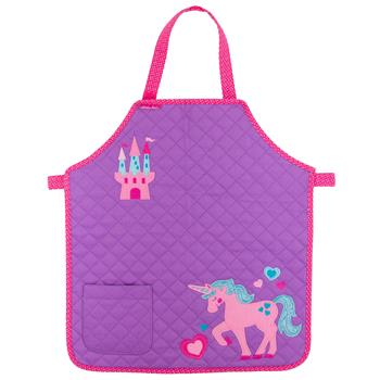 QUILTED APRON  UNICORN (S18)