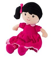 PLUSH DOLLS  BLACK