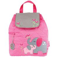 QUILTED BACKPACK  ELEPHANT  (F16)