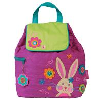 QUILTED BACKPACK  BUNNY (S17)