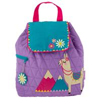 QUILTED BACKPACK  LLAMA (S18)
