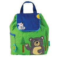 QUILTED BACKPACK  BEAR (S17)