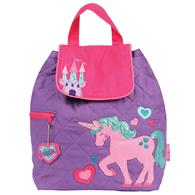 QUILTED BACKPACK UNICORN (F16)