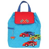QUILTED BACKPACK  RACE CAR (F15)