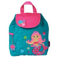 QUILTED BACKPACK  MERMAID (S17)