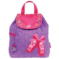 QUILTED BACKPACK  BALLET SHOES  (S16)