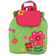 Quilted Backpack for pre-schoolers | Toddler flower backpack