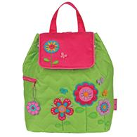 QUILTED BACKPACK  FLOWER (F15)