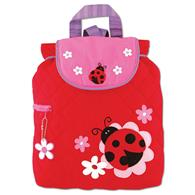 Quilted Backpack for pre-schoolers | Toddler ladybug backpack
