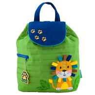 QUILTED BACKPACK LION (F17)