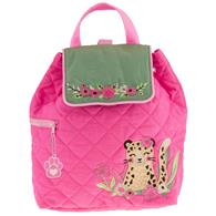 QUILTED BACKPACK LEOPARD