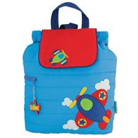 Quilted Backpack for pre-schoolers | Toddler airplane backpack