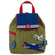 QUILTED BACKPACK  AIRPLANE (S18)