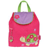 QUILTED BACKPACK  GIRL TURTLE (F15)