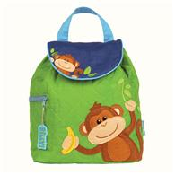 QUILTED BACKPACK  MONKEY BOY (S16)