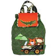 Signature quilted backpack for preschoolers | Toddlers signature safari backpack