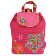 Signature quilted backpack for preschoolers | Toddlers signature flower backpack