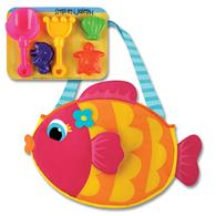 Toddler beach tote | Fish beach tote for pre-schoolers